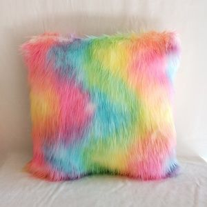 Other - Set of 2 Decorative Faux Fur Pillow
